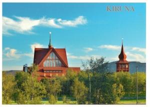 Kiruna kyrka, invigd 1912
