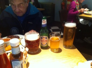 Dad with beers