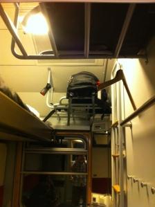 stowed luggage