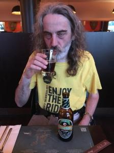Random Bozo with beer