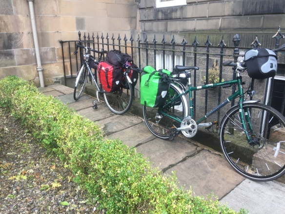 Photo of Bruce and Elly's bikes