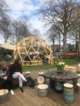 wooden dome at DemocracyAlive!